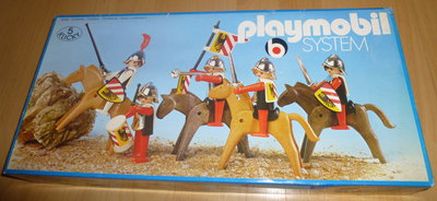 Playmobil 3220 - Nuremberg guards - Box
