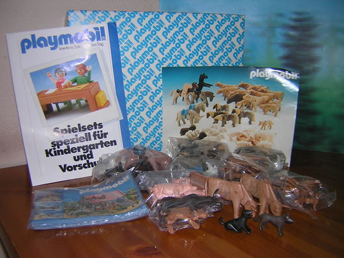 Playmobil 3124 - Animal set - Box