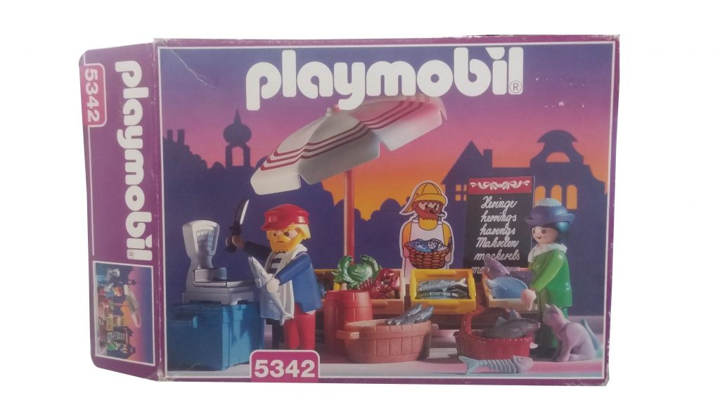 Playmobil 5342 - Fish Stand - Box