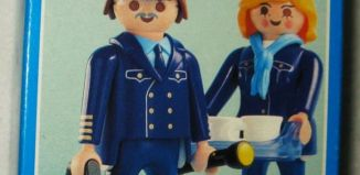 Playmobil - 3104 - Pilot/Stewardess Air Berlin