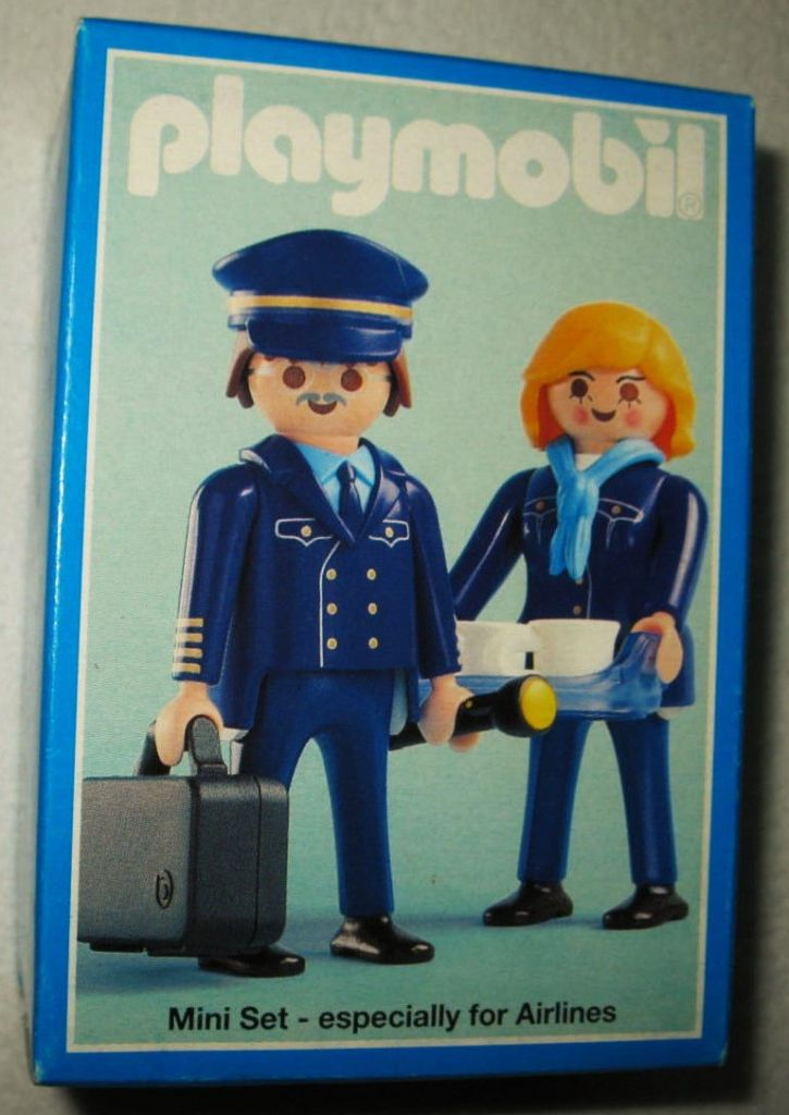 Playmobil 3104 - Pilot/Stewardess Air Berlin - Box