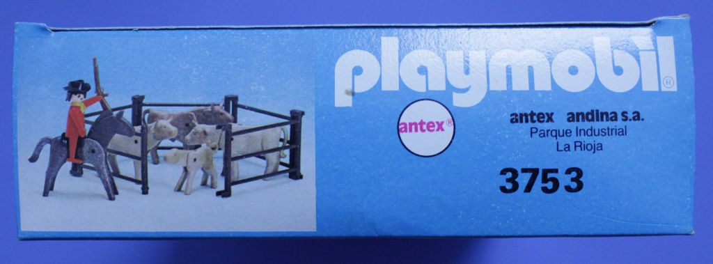 Playmobil 3753v2-ant - Barnyard - Box