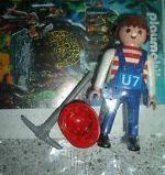 Playmobil - 0000-ger - Maitenance Employee (U7, 2012)