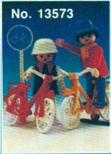 Playmobil 13573v2-aur - Couple on Bicycles - Box