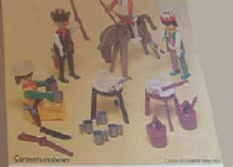 Playmobil - 1731v2-pla - Cowboys and Indians Basic Set