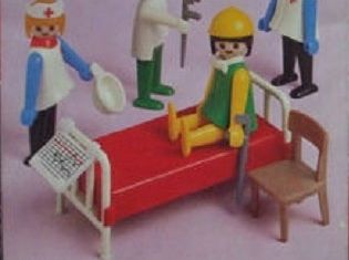 Playmobil - 1741v1-pla - Doctors and Nurses Basic Set