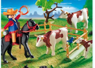 Playmobil - 5766 - Cowboy Round Up