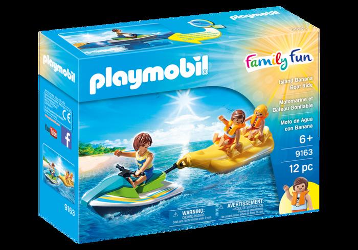 Playmobil 9163-usa - Island Banana Boat Ride - Box