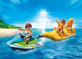 Playmobil - 9163-usa - Island Banana Boat Ride