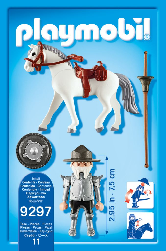 Playmobil 9297-ger - Don Quijote - Volver