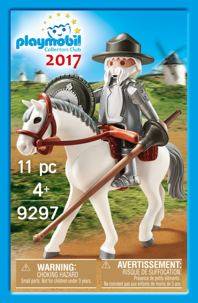 Playmobil 9297-ger - Don Quijote - Box