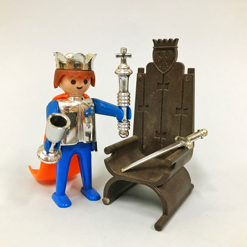 Playmobil 3331 - King And Throne - Back