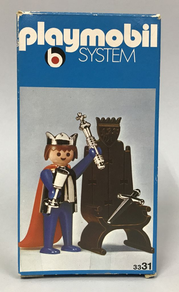 Playmobil 3331 - King And Throne - Box