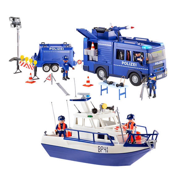 Playmobil 9400-ger - Federal police - large scale deployment - Back