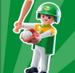 Playmobil - 9241v7 - Baseball player