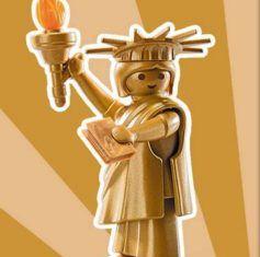 Playmobil - 9242v9 - Golden Liberty Statue
