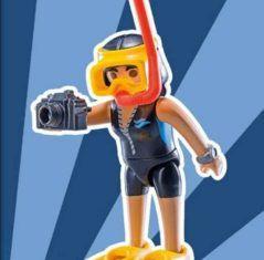 Playmobil - 9242v8 - Diver woman