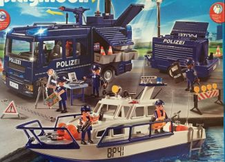Playmobil - 9400-ger - Federal police - large scale deployment