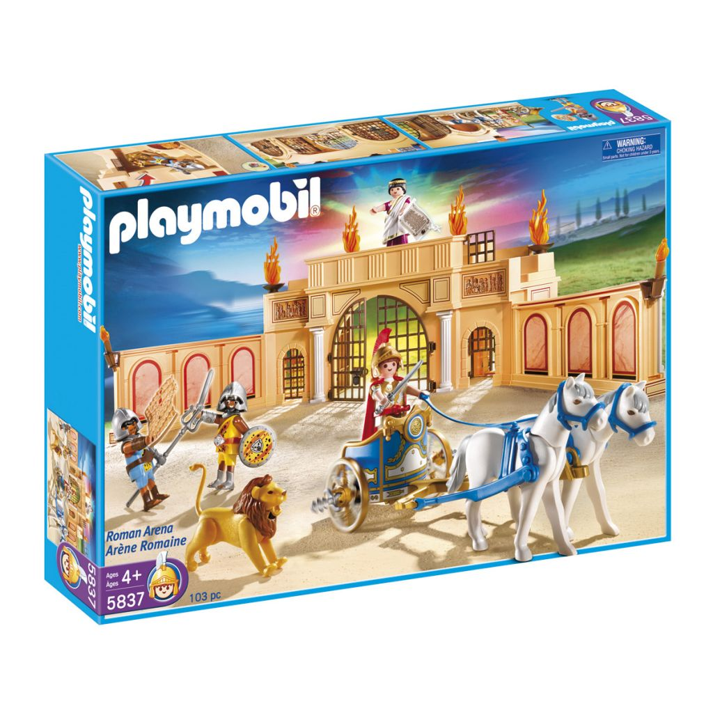 Playmobil 5837 - Roman Arena - Box