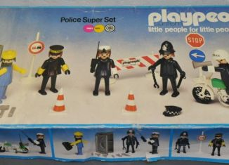 Playmobil - 1720/1-pla - Police Super Set