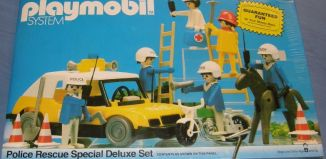 Playmobil - 1903-sch - Police Rescue Special Deluxe Set