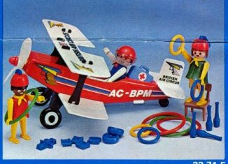Playmobil - 23.71.5-trol - Biplane British Air Circus