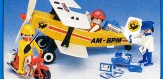 Playmobil - 23.71.7-trol - Biplane Air Mail