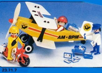 Playmobil - 23.71.7-trol - Biplane Air Mail
