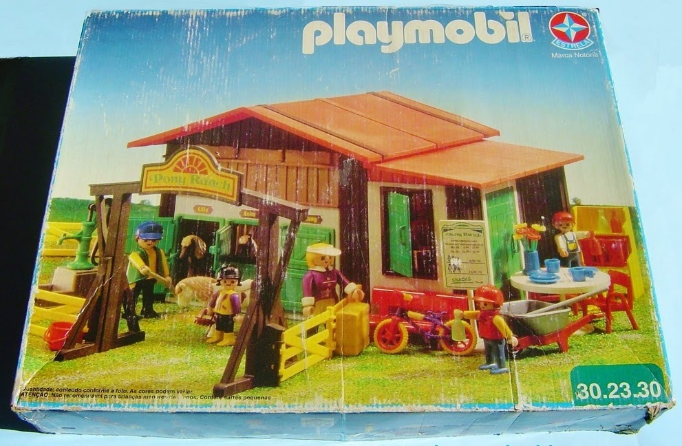 Playmobil 30.23.30-est - Pony Ranch - Back