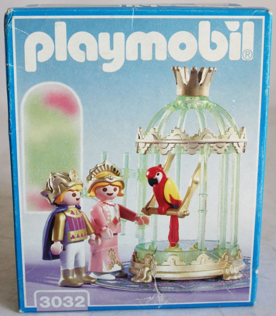 Playmobil 3032 - Royal Children with Parrot Cage - Box