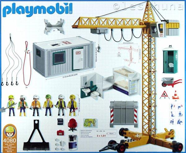 Playmobil 4080 - Super Construction Set - Back
