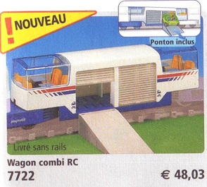 Playmobil 7722 - Express Train Car - Box