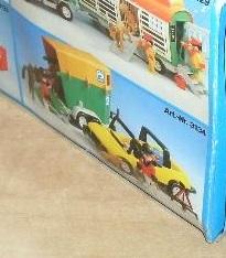 Playmobil 3134s2 - Car & horse trailer - Box