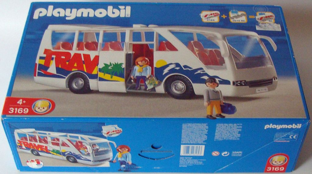 Playmobil 3169 - Travel Bus - Box