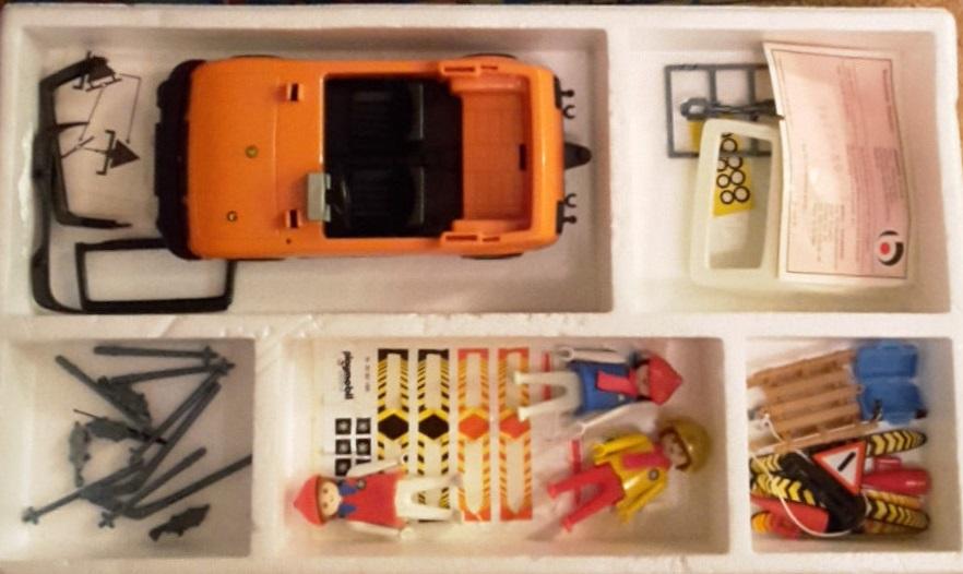 Playmobil 3187s1v2 - Winter Ski Trip - Back