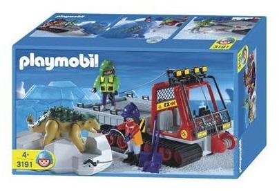 Playmobil 3191 - Dino Transporter - Box
