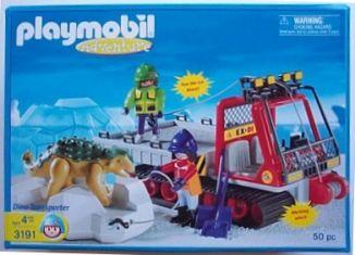Playmobil - 3191-usa - Dino transporter