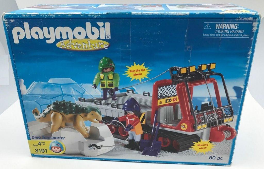Playmobil 3191-usa - Dino transporter - Box