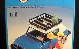 Playmobil - 3210s2v2 - Blue Car