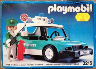 Playmobil - 3215v5 - Police car