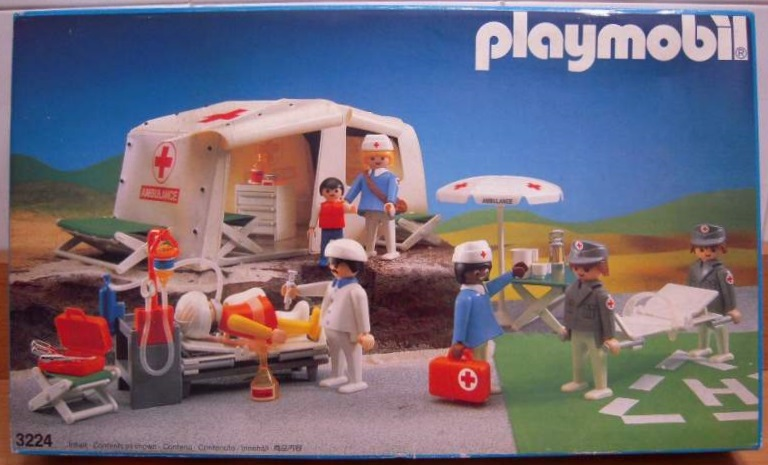 Playmobil 3224 - Medical First Aid Tent - Box