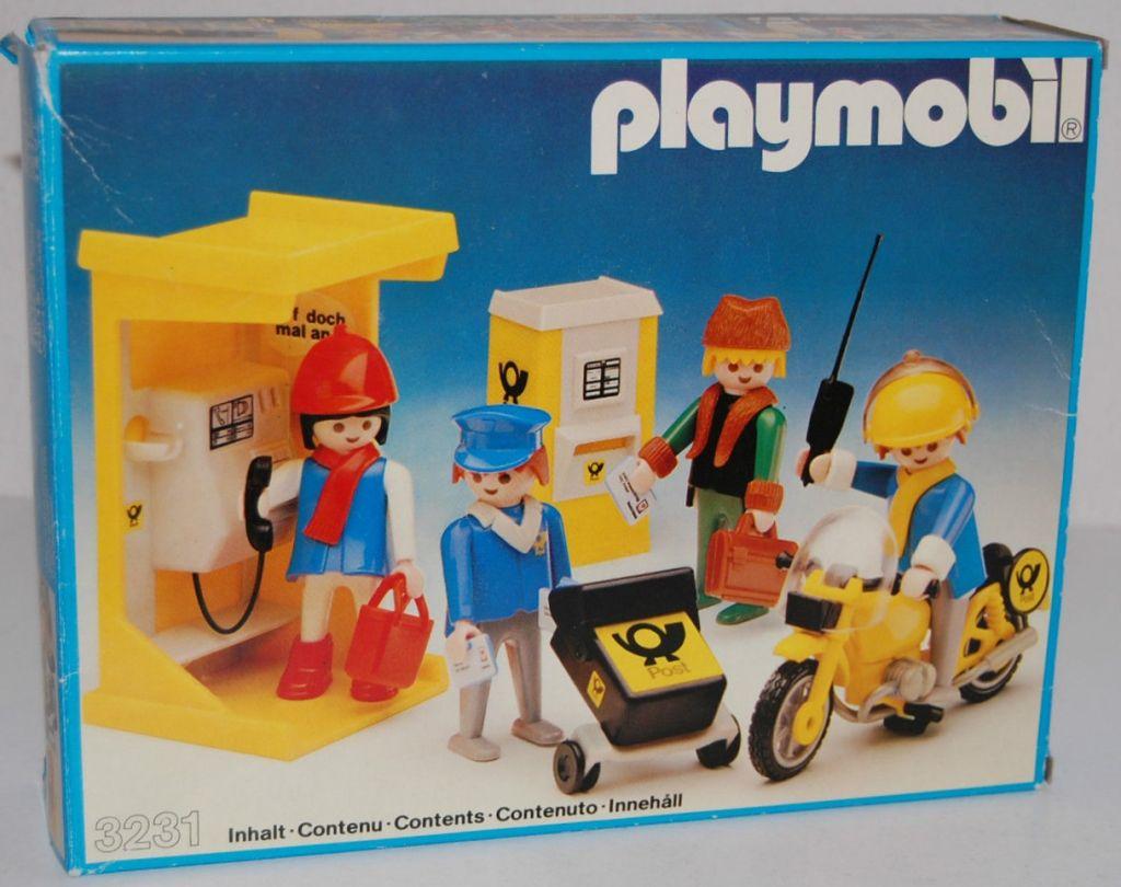 Playmobil 3231v3 - Post office - Box