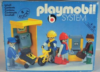 Playmobil - 3231v5 - Phone Booth and Mailmen