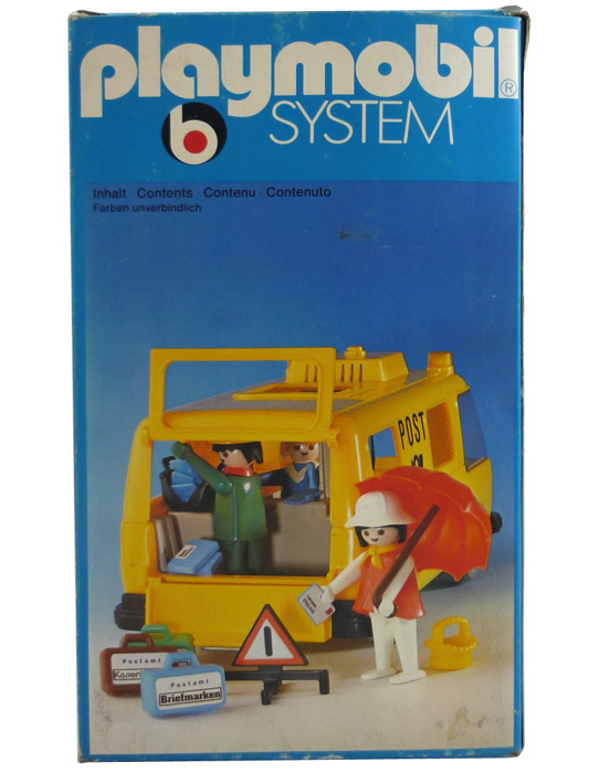 Playmobil 3235s1 - Postal Van - Box