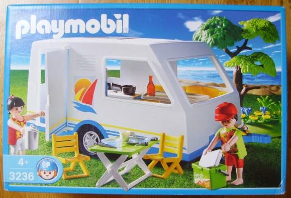 Playmobil 3236s2 - Family Vacation Camper - Box