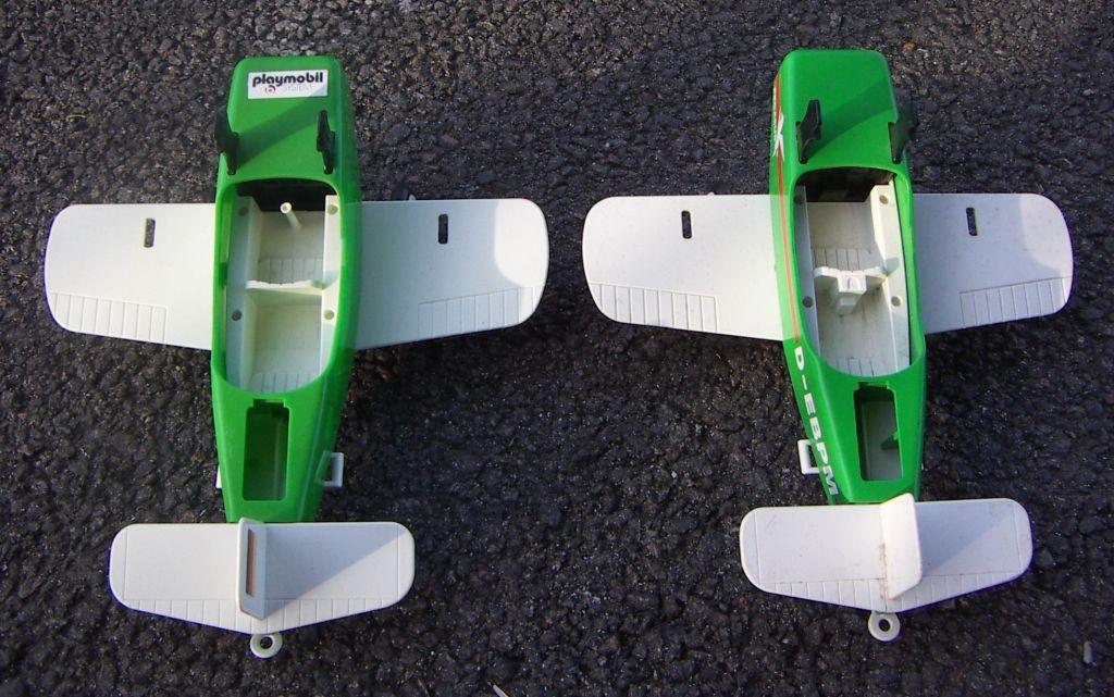 Playmobil 3246s1v1 - Biplane Pegasus - Back