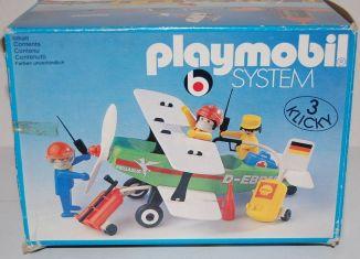 Playmobil - 3246s1v1 - Biplane Pegasus