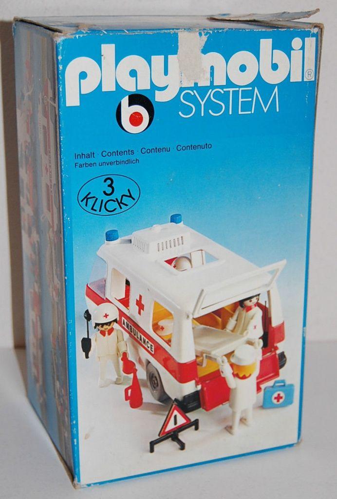 Playmobil 3254s1 - Ambulance - Back