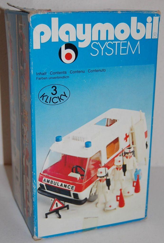 Playmobil 3254s1 - Ambulance - Box