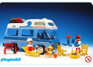 Playmobil - 3258v4 - Family camper